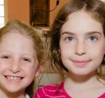 Shabbat Girls w Birthday Cards