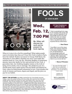 FOOLS flyer by Joah Silber JPEG