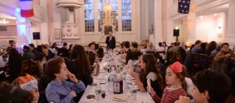 2018 Downtown Community Seder | tamid nyc