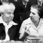 Ben Gurion & Gold Meir